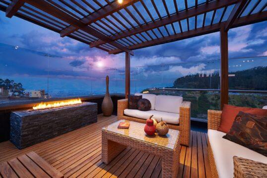 Dachterrasse Idee zum nachmachen – Gemütliche Dachterrasse im mediterranen Lo...