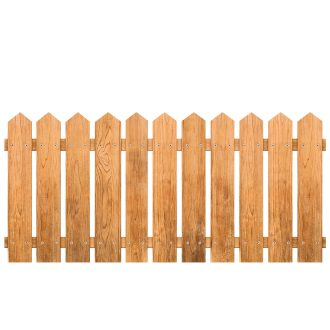 Holz Zäune