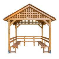 Holzpavillons