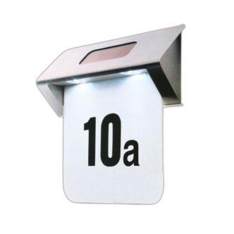 Beleuchtete Hausnummern