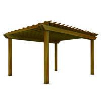 Holz Pergolen
