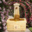 Verschiedene Brunnen für den Garten