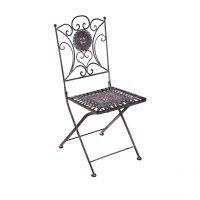 Schmiedeeiserne Stühle