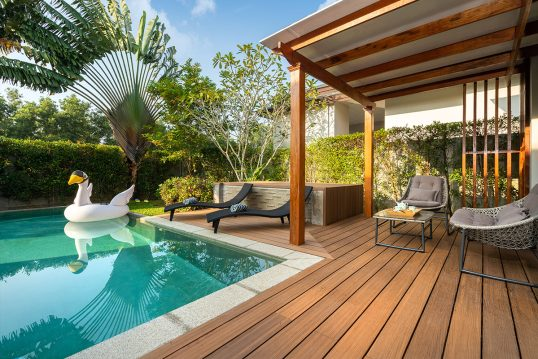 Mediterrane Terrassengestaltung – Pool ...