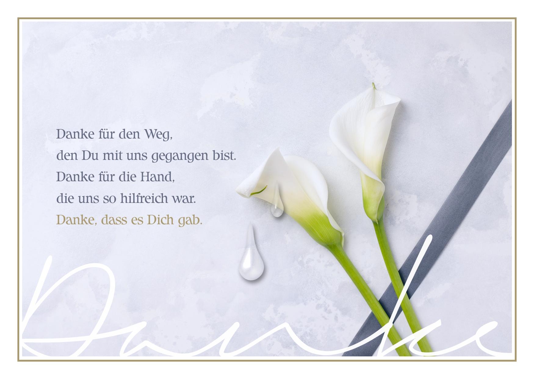 Schöne & kreative Abschiedskarte mit Abschiedsspruch kostenlos zum Download - Worte zum Abschied finden für Familie, Verwandte, Bekannte und Freunde - Trauerkarte zum Abschied schreiben - Trauerkarte mit Spruch oder Zitat zum Versenden