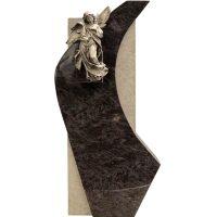 Bronze Engel Grabstein