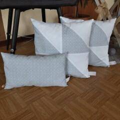 Pflanzgefäß Polyrattan 28 x 28 x 28 cm, weiß, wetterfest, Kunststoffeinsatz
