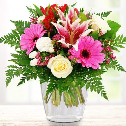 Blumenstrauß Lilie