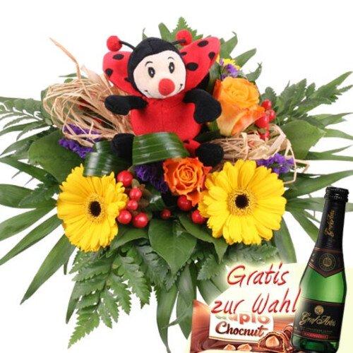 Glücks - Blumenstrauß