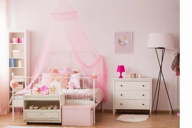 Stilvolle Kinderbetten für Mädchen - Prinzessinnenbett, Himmelbett, Hochbett und Co.