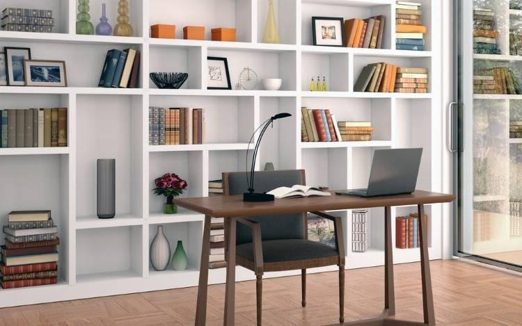 Praktische Holzbücherregale