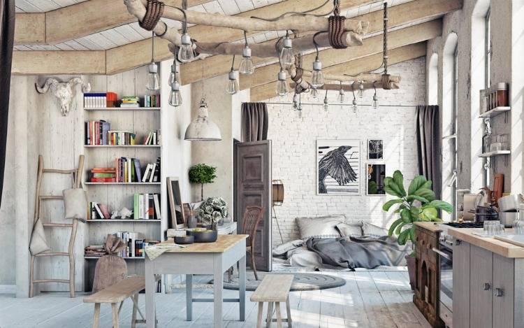 Regale im Landhausstil - Möbel mit Charakter für Deine Wohnung!