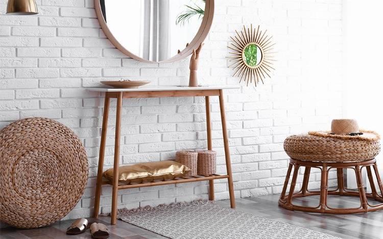 Traumhafte Eleganz und charmante Einrichtung - individuelle Wandtische mit Stil