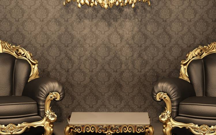Barocksessel im Antik Stil
