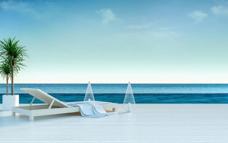 Genussvolle Terrassenliegen – endlich Urlaub!