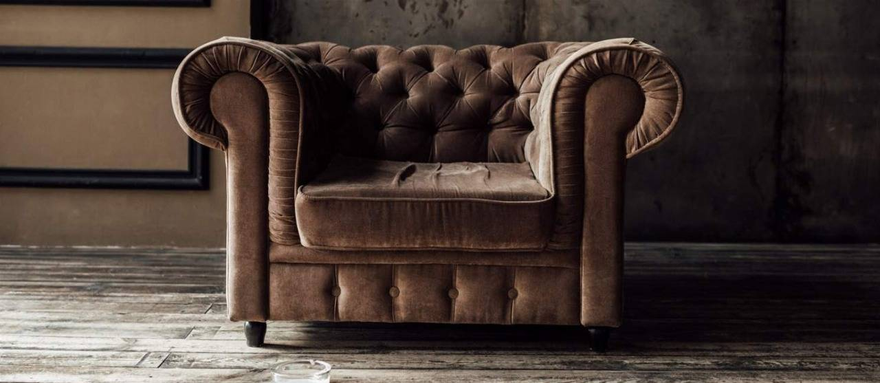 Chesterfield Sessel in Leder günstig online kaufen