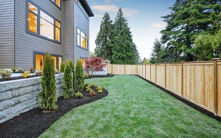 Garten Sichtschutzzäune aus Bambus, Holz, Glas & Kunststoff