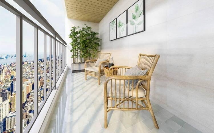 Die perfekte Sitz - & Liegegelegenheit für den Sommer – Der Balkonsessel