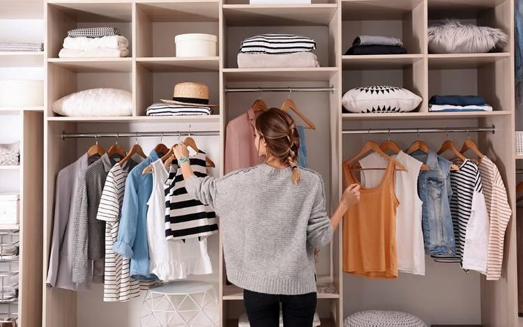 Unverzichtbar - der Kleiderschrank oder auch Schlafzimmerschrank