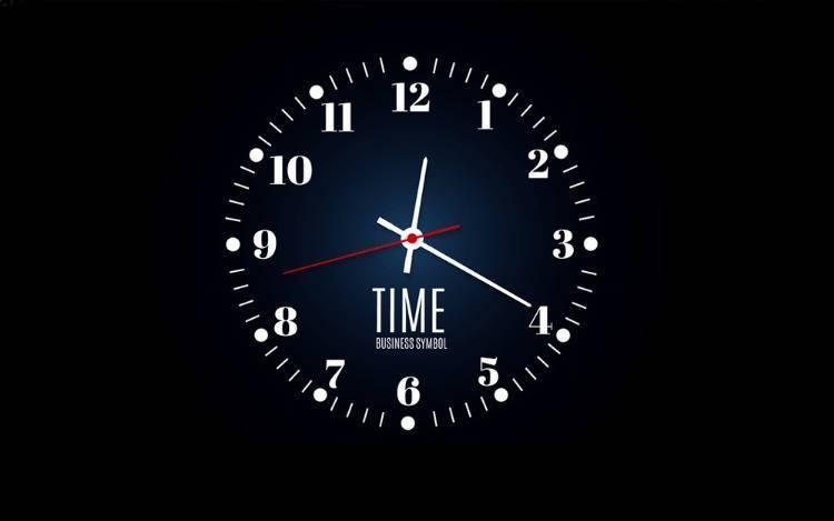 LED-Wanduhr: Die Uhrzeit immer im Blick