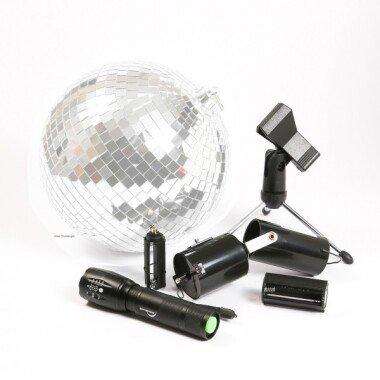 SATISFIRE Discokugel Mobile Party Kit