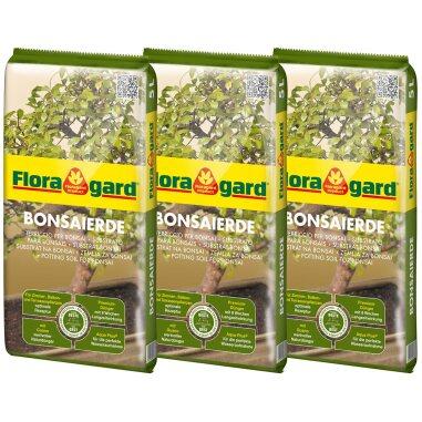 Floragard Bonsaierde 3 x 5 l