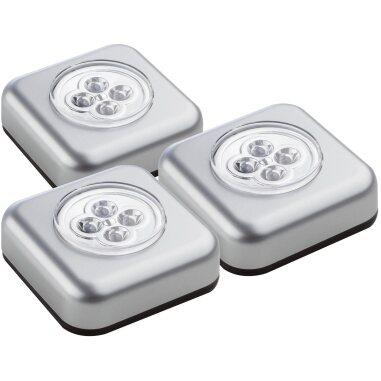 Müller-Licht LED-Unterbauleuchte Triplex Silber