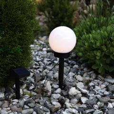 Solar- Gartenkugel Globus, mit Sensor...
