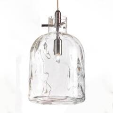 Designer-Pendellampe Bossa Nova 15 cm transparent