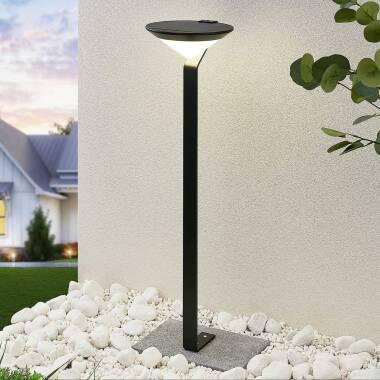 Lindby Clamor LED-Solar-Wegelampe mit PIR-Sensor