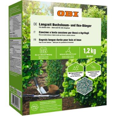 OBI Langzeit-Buchsbaum- und Ilex-Dünger 1,2 kg