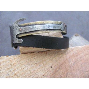 Männer Leder Armband Schmuck Wrap Womens...