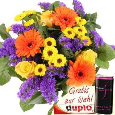 Blumenstrauß Holiday Blumen online günstig plus Gratis-Zugabe