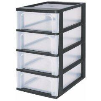 Komplett-Büroküche in Buchefarben Herd (4-teilig)