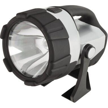 CMI LED Handstrahler 4 D Schwarz-Silber