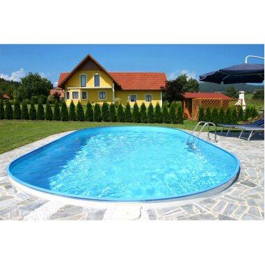 Summer Fun Stahlwand Pool-Set FLAMINGO...