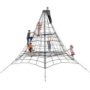 Klettergerüst 45 m als Pyramide mit...