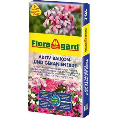 Floragard Aktiv Balkon- und Geranienerde 70 l