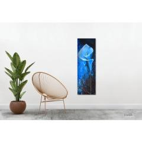 Original Acrylgemälde Auf Leinwand, Malerei, Kunst, Abstrakt, Calla, Blume, Pano bei Etsy