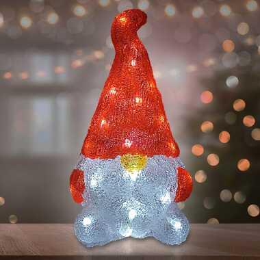 LED Acryl Figur Weihnachten Wichtel