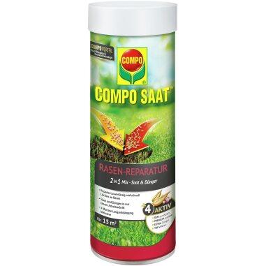 Compo Saat Rasen-Reparatur-Mix Samen und Dünger 360 g für 15 m²