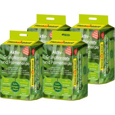 Floragard Aktiv Grünpflanzen- und Palmenerde...