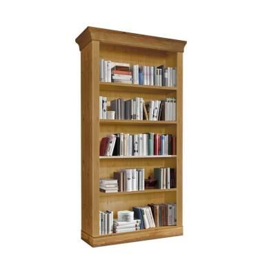 Landhaus Bücherregal aus Kiefer Massivholz gelaugt und geölt