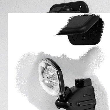 Solar-Wandlampe 15 LEDs mit Bewegungsmelder