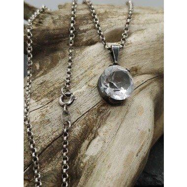 Damen Halskette 925Er Und 835Er Silber...