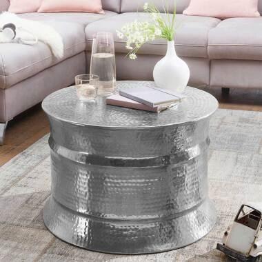 Designercouchtisch aus Aluminium Industry Style