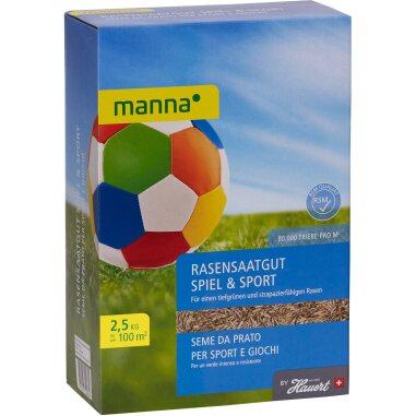 Manna Saat Spiel- und Sportrasen 2,5 kg