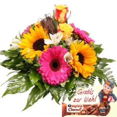 Sommer-Blumenstrauß Ein schöner Tag