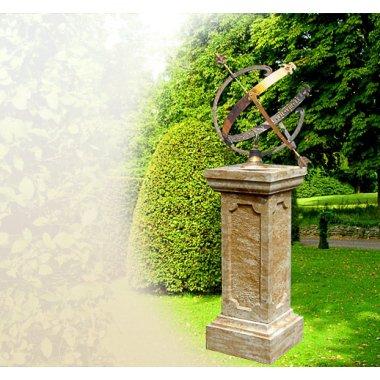 Sonnenuhren für den Garten aus Bronze...