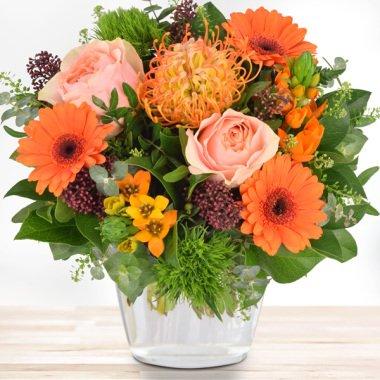 Blumenstrauß Protea